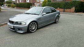 2003 BMW M3 E46 COUPE GREY FULL SERVICE HISTORY FACELIFT