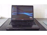 """Toshiba L350 17"""" WiFi Enabled Webcam Intel Core2 Duo 2GHz 3GB RAM 160GB HD DVDRW Internet Ready"""