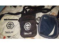 Timberland & Nike bags