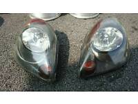 Toyota MR2 headlights