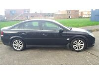 Black 2007 Vauxhall Vectra in Excellent Condition