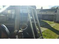 as new 8ftx4ft alko trailer chassis no vat