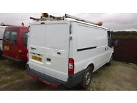 Ford Transit t280 swb 2.2 turbo diesel, new mot, only 88,000 miles, 2008-08-plate,3 months warranty