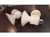 Edison Halo Spotlights in cream - brand new (L452)