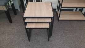 Julian Bowen Tribeca Nest of Tables Can Deliver