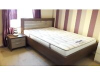 Wooden Bed Frame + Ortho Mattress