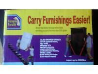 Furniture lifting straps