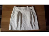 BSB white skirt-size M