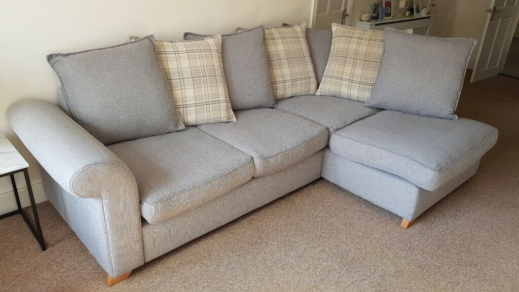 finest selection 49a04 a4eee DFS Rupert Grey Corner Sofa | in Hitchin, Hertfordshire | Gumtree