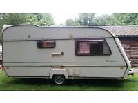 Abi caravan 2 berth awarel transtar. Good condition. Everything is in working condition.