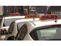 Taxi Drivers - Taxi/ Public Hire/ Hackney Carriage BADGE & CAR available to Rent/Hire - Toyota Prius