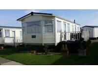 STATIC CARAVAN PRIVATE SALE SITED IN CLEETHORPES BEACH COMBER