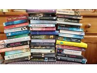 Large selection of fiction