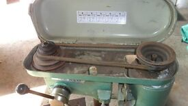 warco bench drill vintage
