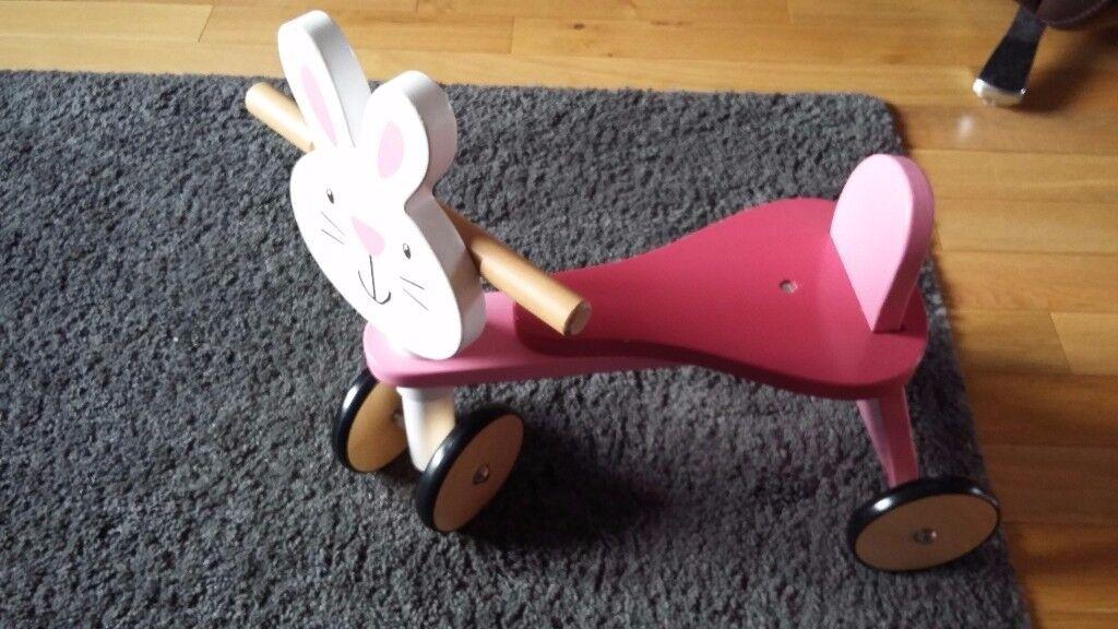 Wooden rabbit trike 😊