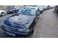 Black Saab 9000 CDI auto 4 Door Saloon. A good runner with 170K & 12 Months M.O.T.