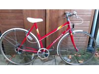Ladies peugeot road bike