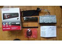 Bluetooth Car Radio - Pioneer MVH-X380BT - Single Din