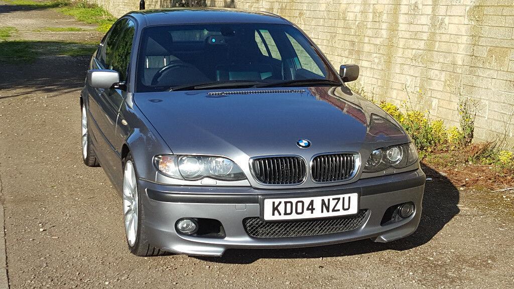BMW (04 reg) Series 3, 330i SPORT AUTOMATIC SALOON 78400 miles