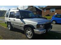 7 seater Land Rover Discovery Adventurer 2.5 TD5.