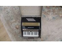 Vintage Accordion 48 Bass La Divina Cased