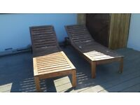 Project sunloungers free to a good home - now reserved