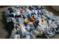 Baby boy clothes bundle 93 ITEMS