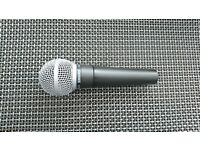 Shure SM58 Vocal Microphone With Free 10ft XLR Microphone Lead