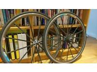 Giant EXT areo carbon race wheels (vintage)