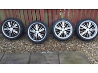 "VW ,Seat, Audi , Alloy Wheels 4X18"" 5 X 112 STUD PATTERN"