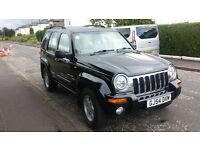 JEEP CHEROKEE LIMITED V6 AUTO 12 MONTHS MOT