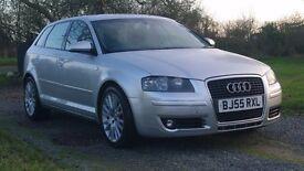 2005 Audi A3 5 Door Sportback 2.0 TDi Sport 140 BHP 6 Speed
