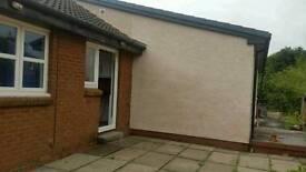 House sale semi detached bungalow kirkmuirhill area south Lanarkshire