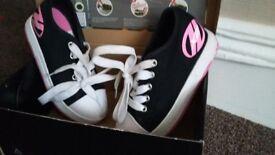 Girls heeleys - size 12