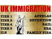 Visa Advice- Tier 4, Tier 2, Tier 1, Tier 5, ILR, Bail- All UK Immigration.Immigration Lawyer