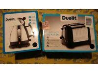 BNIB Dualit Kettle & 2 Slice Toaster