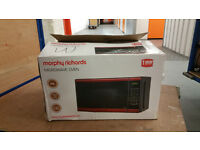 Morphy Richards 20L Microwave oven (boxed)