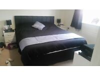 Super king size divan bed