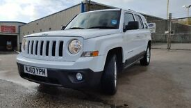 Jeep patriot 2011 white 2.2L CRD