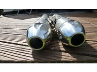 Yamaha MT-01 O.E.M. Silencers- Full Bore - Straight Through (No Wadding) Better Than a Horn. !