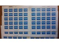 100 royal mail 2nd class postage stamps f.v. £56 will sell for 10% + discount £50