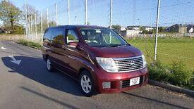 Nissan Elgrand - 8 Seater Luxury Family Car - V6 2.5 Petrol - Low Mileage