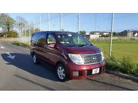 Nissan Elgrand - 8 Seater Luxury Family Car - V6 2.5 Petrol - Low Mileage