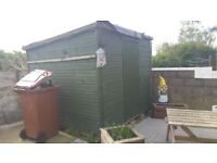8x8 shed. 230