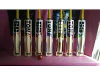 Brand new cricket bats english willow
