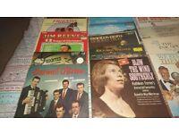 Numerous vinyl album various artist