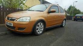 04 Vauxhall corsa motd trade in accepted