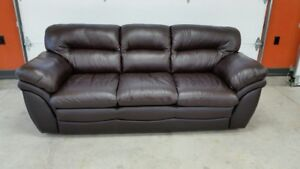 New Leather Couch/Sofa