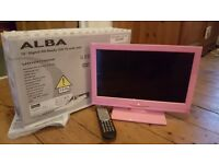 "16"" alba led HD tv with dvd"
