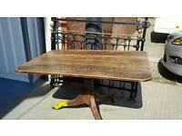 Original Victorian oak table